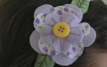 Arcos e Tiaras com Flores de Tecidos: Lindos Modelos e Cores – Confira
