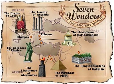 sete maravilhas do mundo antigo As Sete Maravilhas do Mundo Antigo   Beleza, História, Fotos, Tudo