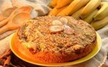 Torta de Banana Light da Globo Receita Fácil de Fazer
