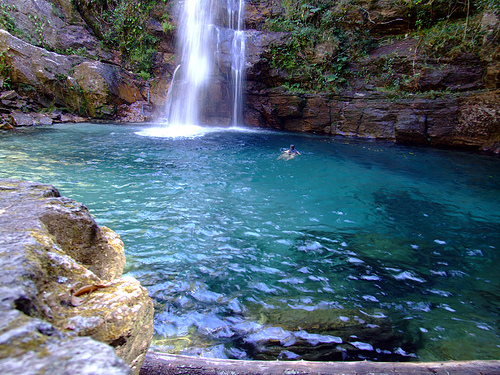 cachoeira santa barbara go Lindas Paisagens Brasileiras   Confira as mais Belas Fotos do Brasil