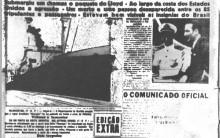 Navio Brasileiro Torpedeado Por um Submarino Alemão na Primeira Guerra