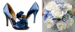 sapatos que combinam com buque casamento 4 300x130 Sapatos Coloridos que Combinam com o Buquê   a Nova Moda das Noivas