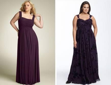 vestidos longos para gordinhas modelos Vestidos Longos para Gordinhas Moda 2011   Confira os Lindos Modelos