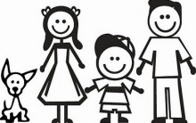 Melhores Adesivos da Família Feliz – Modelos Lindos e Engraçados, Veja