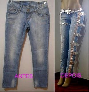 customizaçao jeans Customização de Roupas   Crie Modelos Exclusivo e Ajude Salvar o Planeta