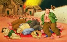 Fernando Botero, Pintor Colombiano de formas gordas e de Boca Fechada