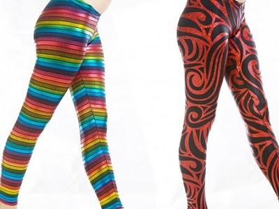 legging estampada Leggings Estampadas Moda 2011: Lindos Modelos, Estampas para o Inverno