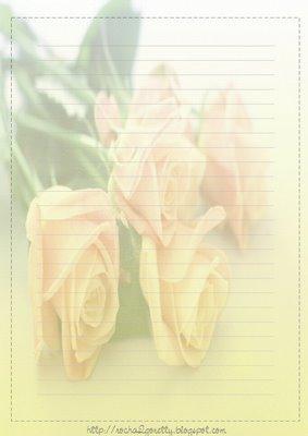 papel de carta flores Papéis de Carta para Imprimir   Lindos Modelos de Flores, Hello Kitty