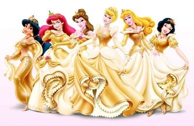 Princesas Disney Coloridas