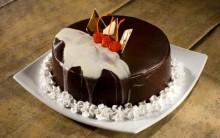 Torta Deliciosa de Chocolate da Ana Maria Braga com Ganache Branco
