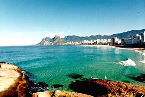 arpoador brasil Praias mais Bonitas do Mundo   Lindas Fotos com Nomes e País, Confira