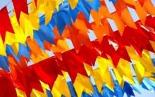Como Fazer Bandeirinhas para Festa Junina – Moldes e Passo-a-passo