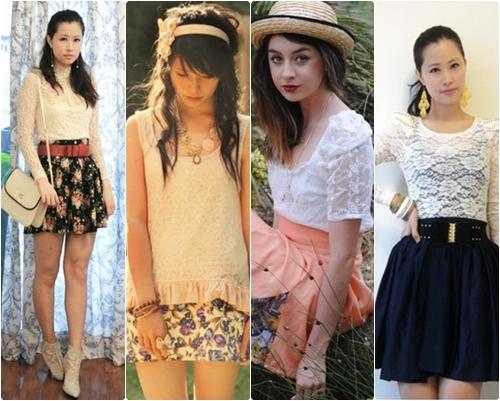 blusas rendadas Rendas Como Usar Moda 2011   Vestidos, Blusas, Lindos Modelos e Dicas