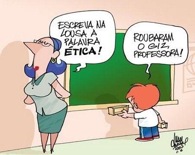 c Charges Engraçadas de Educação, Ensino, Crítica, Alunos e Professores