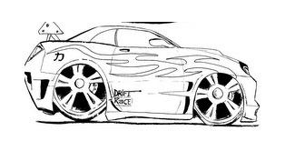 carro pintar 2 Desenhos de Carros para Pintar   Melhores Modelos para Imprimir, Veja