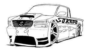 carro pintar Desenhos de Carros para Pintar   Melhores Modelos para Imprimir, Veja