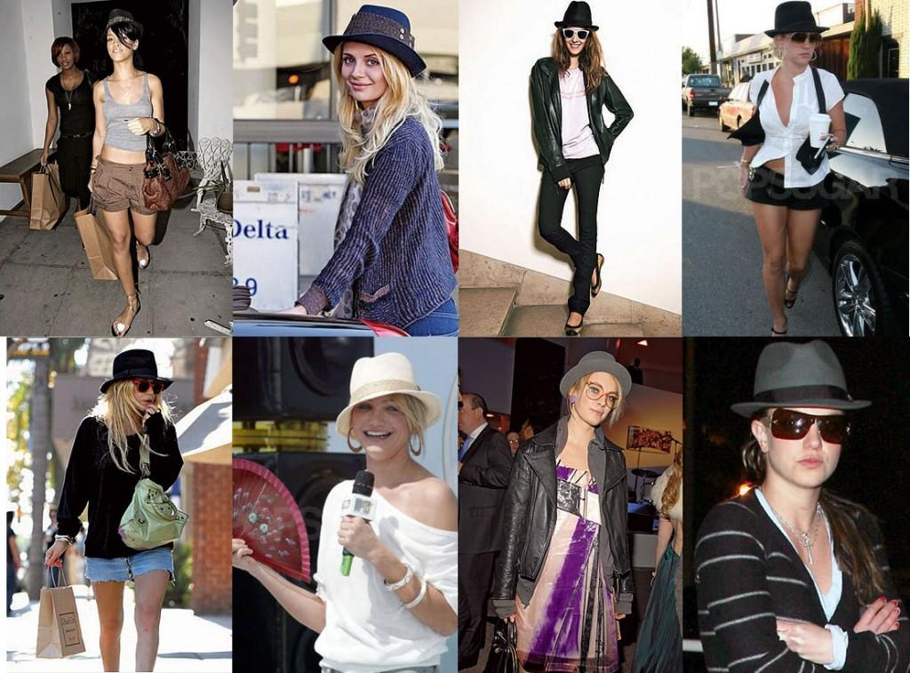 Roupas da moda Chapéu