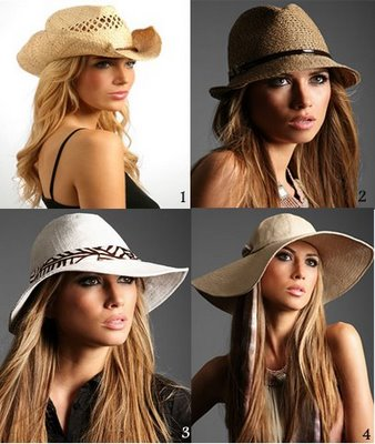 chapeus femininos moda Moda Chapéus Femininos   Lindos Modelos e Dicas para Acertar no Visual