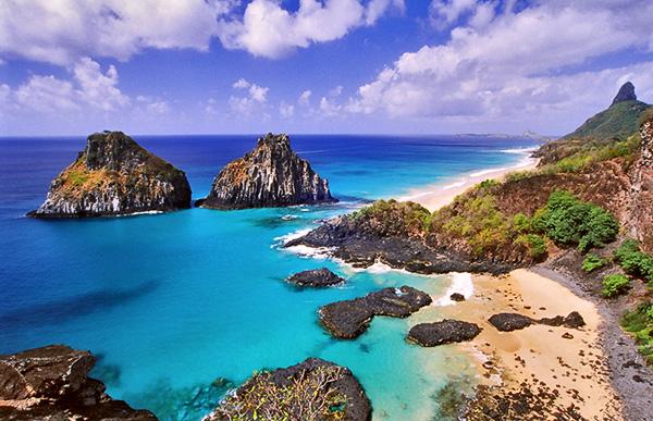fernando de noronha brasil Praias mais Bonitas do Mundo   Lindas Fotos com Nomes e País, Confira