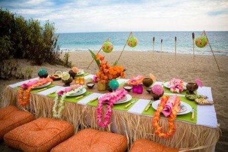 festa havaiana 2 Temas Incríveis para Festa de 15 Anos   Havaiano, Anos 60, Filmes etc