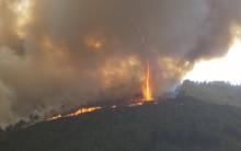 Tornado e Redemoinho de Fogo – O que é, Causa, Formação, Fotos e Vídeo