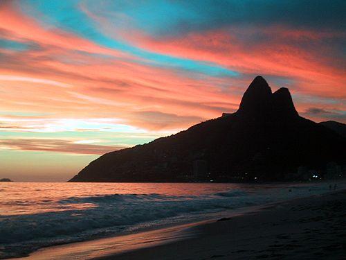 ipanema brasil Praias mais Bonitas do Mundo   Lindas Fotos com Nomes e País, Confira