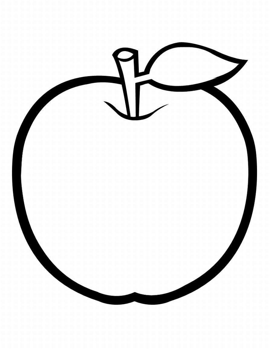 Dibujos de frutas para colorear e imprimir - Dibujos para colorear ...