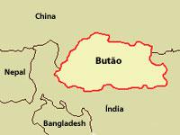 mapa butao Butão, o País da Felicidade   Cultura, Tudo sobre e Dicas para Viagem