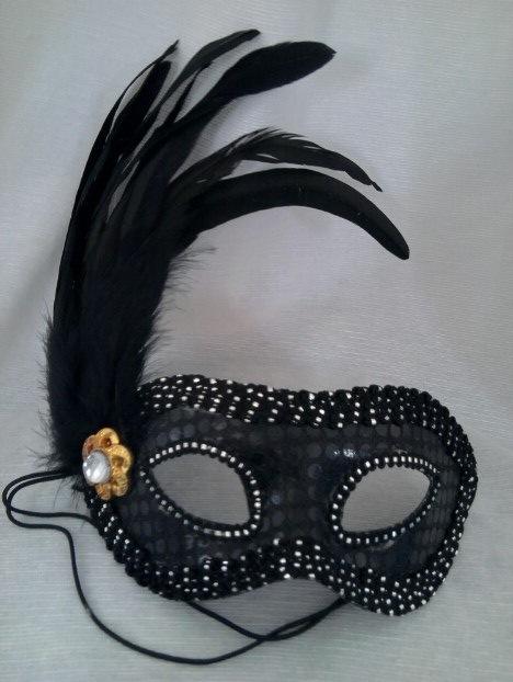 mascara preta 2 Máscaras Venezianas para Bailes   Lindos Modelos e Lojas para Comprar