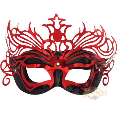 mascara vermelha Máscaras Venezianas para Bailes   Lindos Modelos e Lojas para Comprar