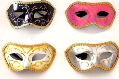mascara vezena baile Máscaras Venezianas para Bailes   Lindos Modelos e Lojas para Comprar
