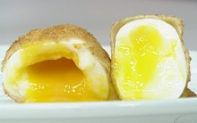 Ana Maria Braga ensina fazer uma receita francesa de ovo empanado