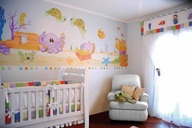 Decoracao De Quarto Infantil Misto ~ Quer saber como decorar o querto de seu filho de maneira simples e