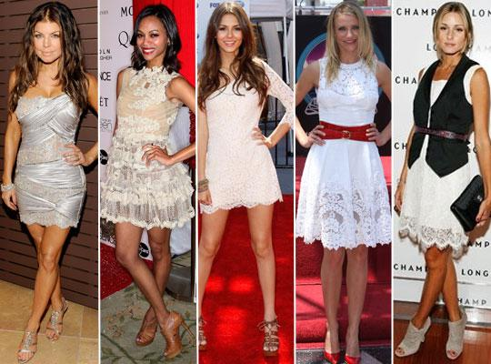 rendas Rendas Como Usar Moda 2011   Vestidos, Blusas, Lindos Modelos e Dicas