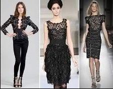 roupas com renda Rendas Como Usar Moda 2011   Vestidos, Blusas, Lindos Modelos e Dicas