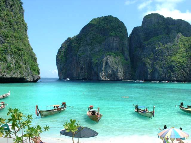 tailandia praia maya Praias mais Bonitas do Mundo   Lindas Fotos com Nomes e País, Confira