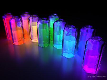 vidros coloridos Lindas Fotos e Imagens Coloridas   Cores do Arco Íris e Objetos, Flor