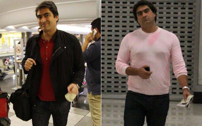 zeca camargo Zeca Camargo Perdeu 5 kg em Medida Certa   Antes e Depois Foto Aqui