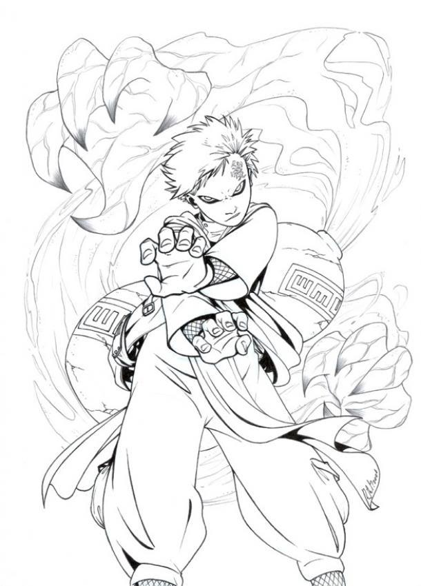 Desenhos Para Colorir Do Naruto Sakura Kakashi E Mais Para Imprimir