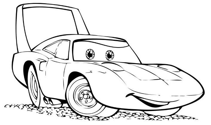 Desenho Pintar Filme Carros Desenhos Para Colorir Do Filme Carros 2