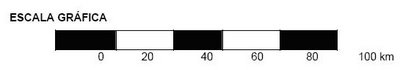 escala grafica mapas Escalas Gráficas e Numéricas   Tipos, Tamanhos, Conversão e Aplicação