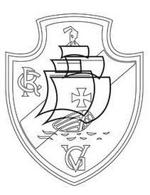 escudo do vasco pintar Desenhos para Colorir de Times de Futebol: Escudos, Mascotes, Imprimir