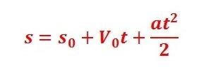 formula funcao horaria muv Movimento Uniformemente Variado (M.U.V.): Explicação, Dicas e Exemplos