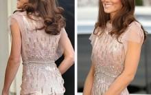 Duqueza de Cambridge Chama a Atenção com Lindo Vestido Rosa e Magreza