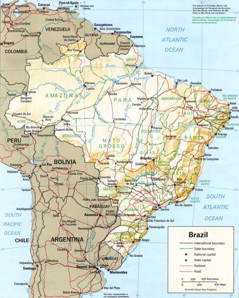 mapa brasil com linhas 822x1024 Cartografia Temática: Definição, Exemplos, Mapas, Anamorfose e mais