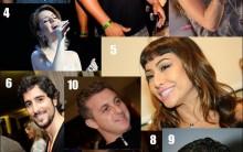 10 Celebridades com Perfis mais Famosos do Twitter- Luan Santana, mais