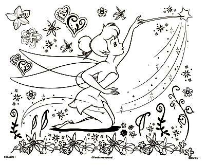 Desenhos Da Sininho Para Colorir Melhores Imagens Imprimir E Pintar