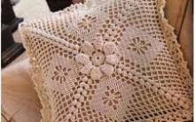 Almofadas em Crochê – Terapia e Decoração, Fotos, Modelos