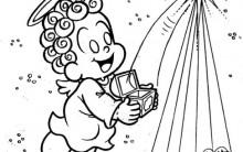 Desenhos para Colorir de Anjos: Imprima e Pinte. Confira Aqui!