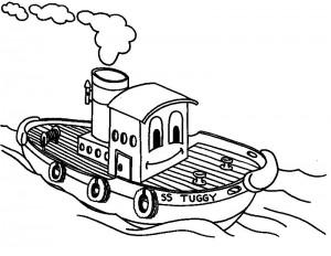 barco para colorir 300x232 barco para colorir